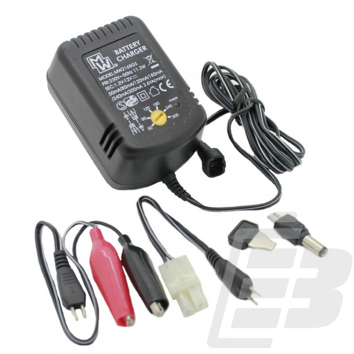 MW2167GS Auto Detect Universal Battery Pack Charger 1
