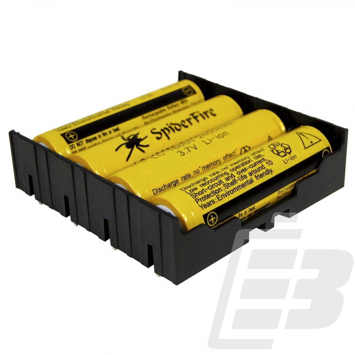 MPD Battery holder size 18650 4 cells