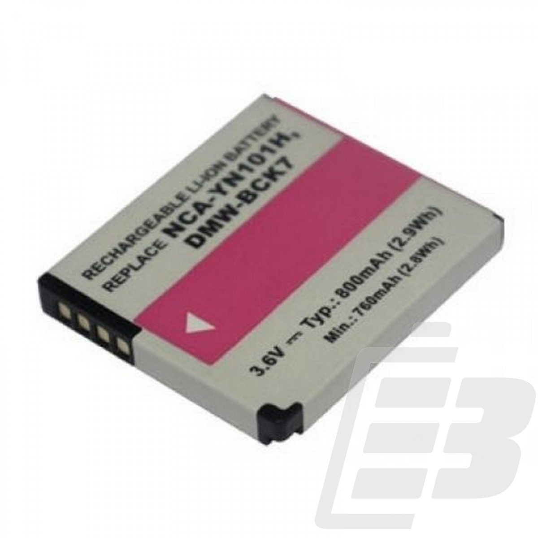 Camera battery Panasonic DMW-BCK7_1