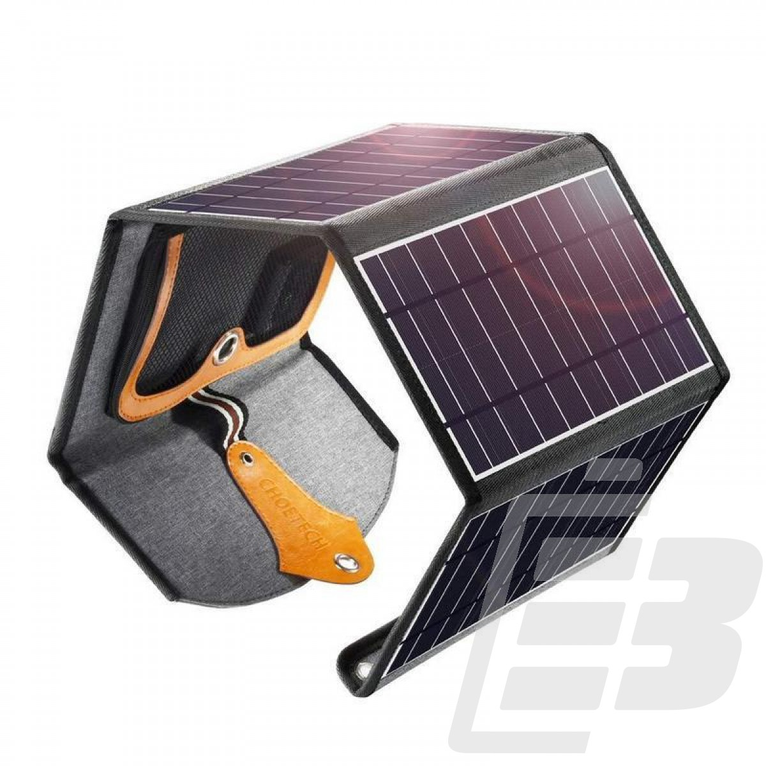 Choetech SC005 Waterproof Solar Charger 2 x USB 4 x Panels 22W