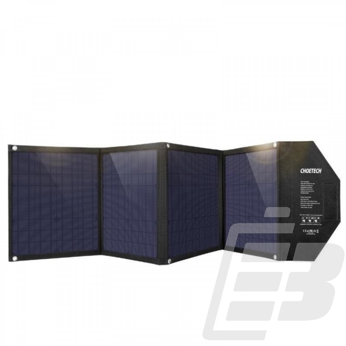 Choetech SC007 80W 18V Solar Charger with USB C PD QC