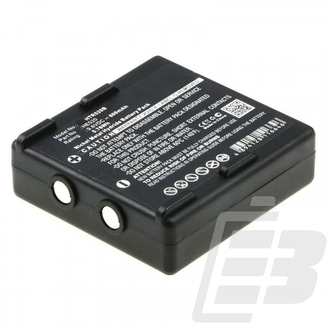 Crane remote control battery Hetronic Nova Ergo_1