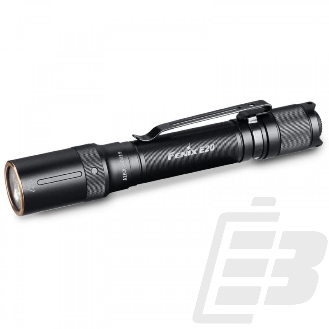 Fenix E20 V2 LED Flashlight, AA batteries 350 lumens