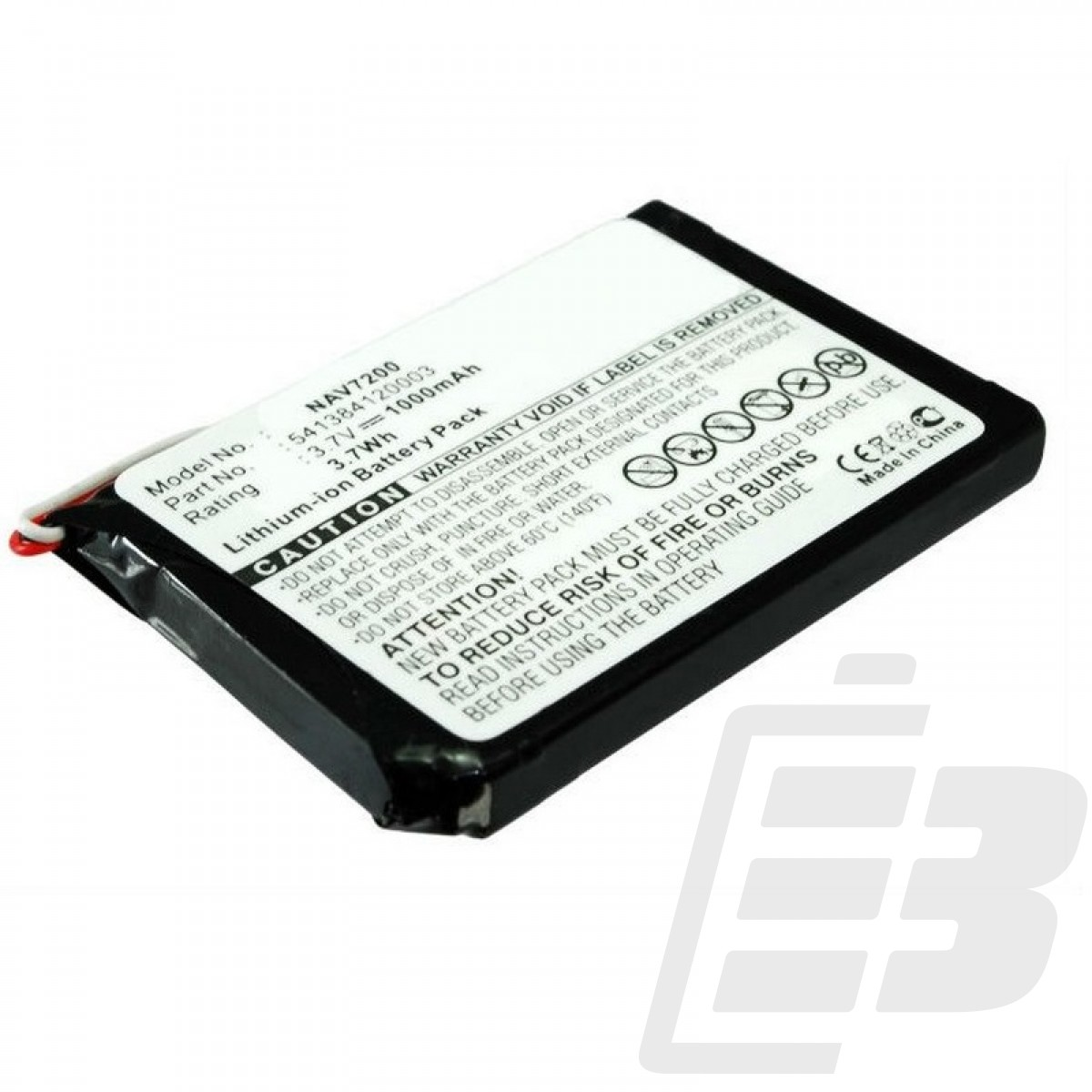 GPS battery Navigon 72 Plus Live_1