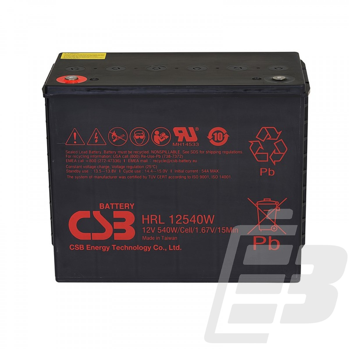 CSB LEAD BATTERY HRL12540W_1