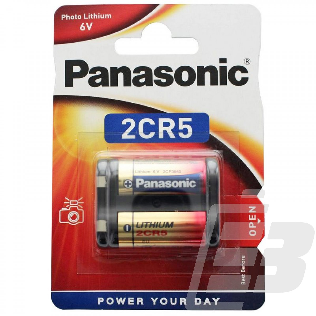 Μπαταρία Λιθίου 2CR5 Panasonic Photo Power