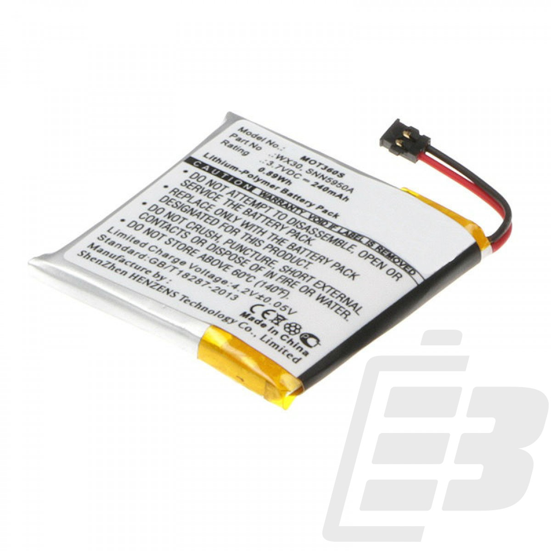 Smartwatch battery Motorola Moto 360_1