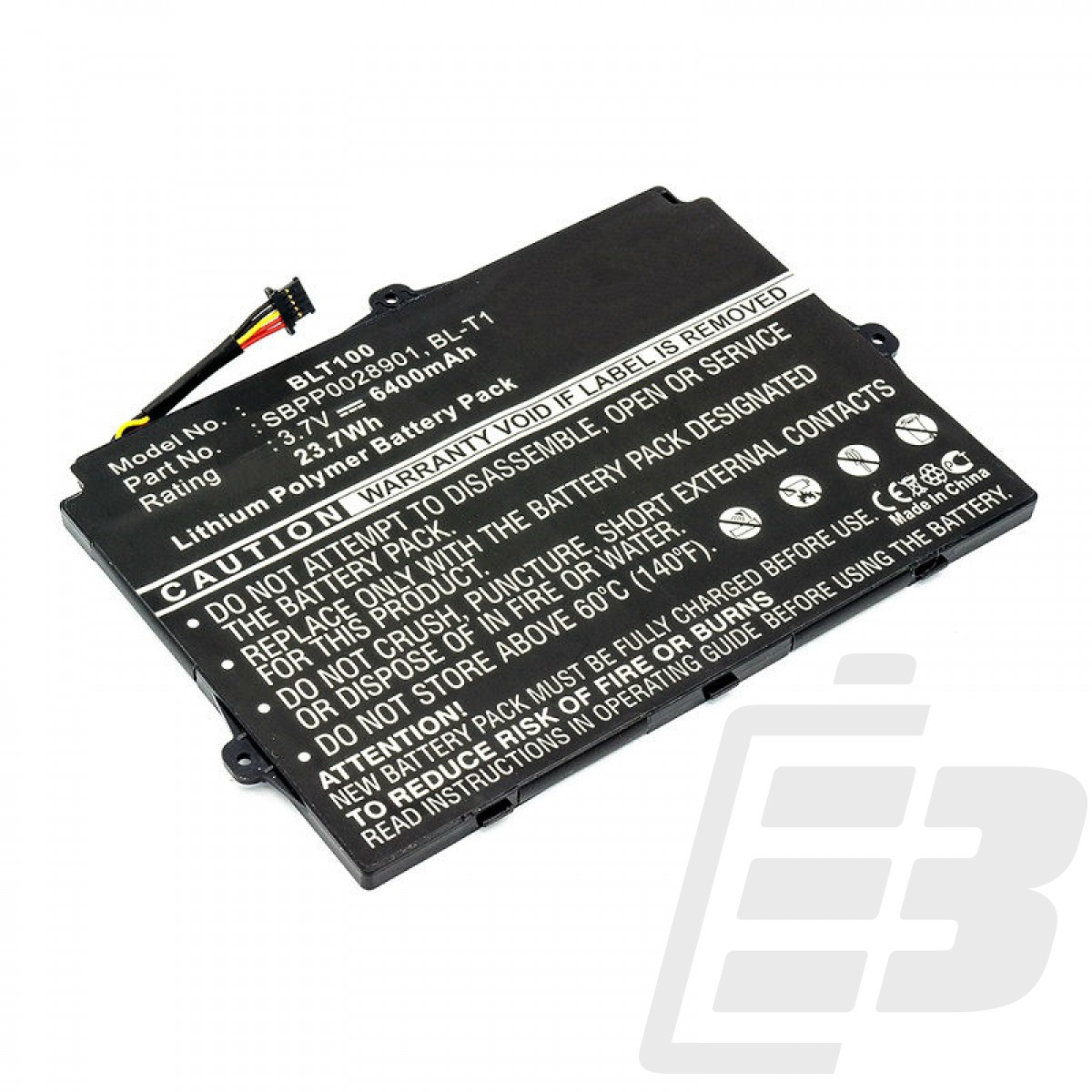 Tablet battery LG Optimus Pad V900_1