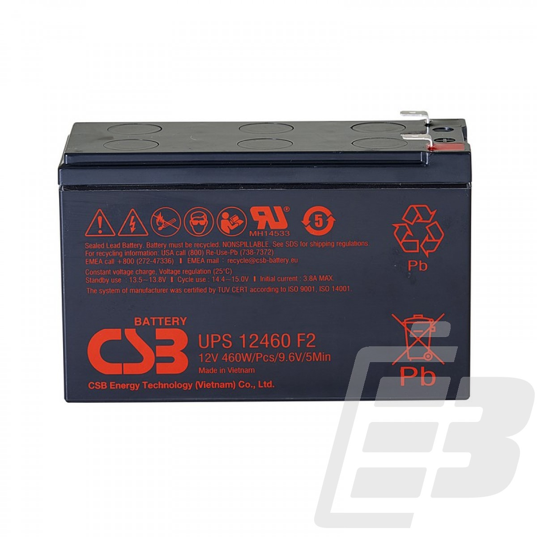 CSB LEAD BATTERY UPS12460_1
