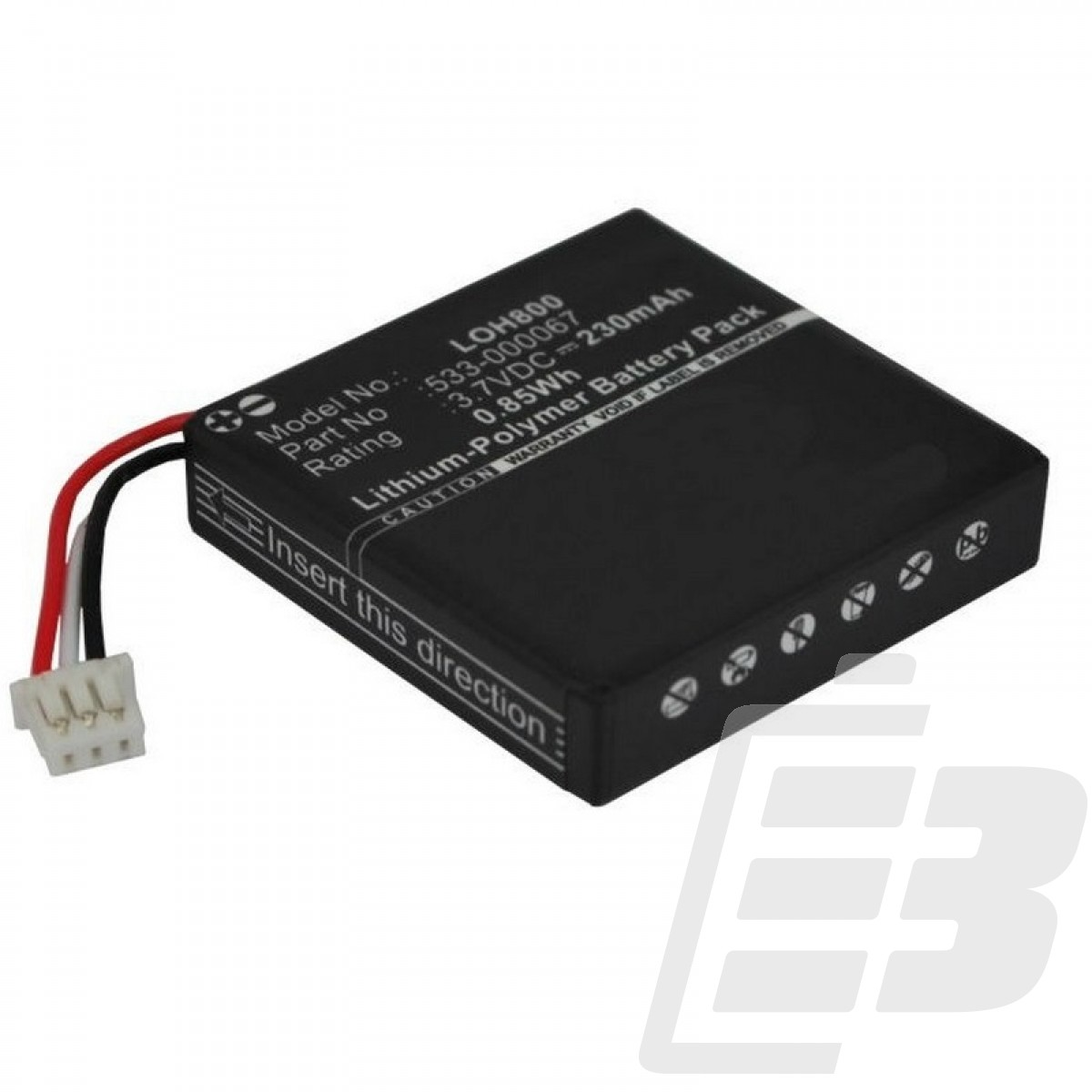 Wireless headset battery Logitech H800_1