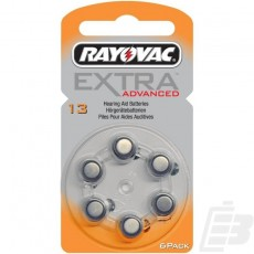 Rayovac Extra Advanced A13 batteries