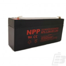 NPP Lead Acid Battery 6V 3.2Ah_1