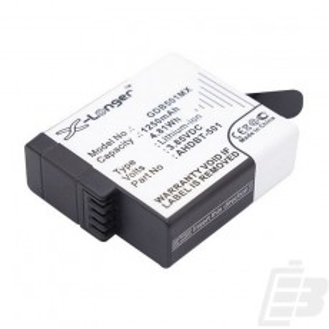 Action cam battery GoPro Hero5_1