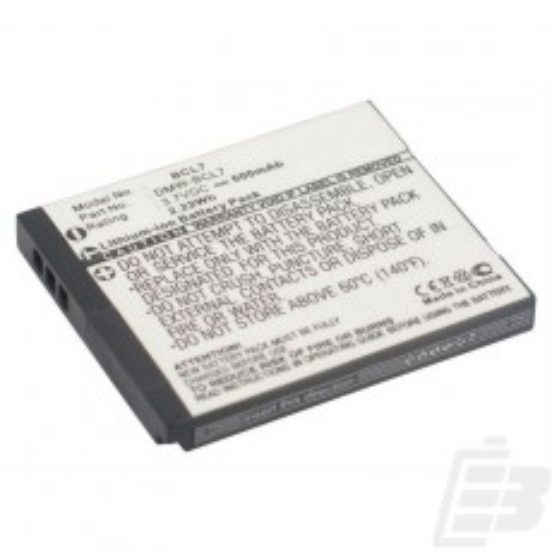 Camera battery Panasonic DMW-BCL7E_1