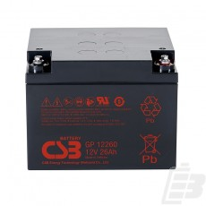 CSB Lead Acid Battery GP12260 1