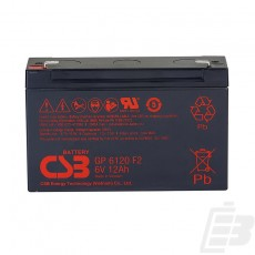 CSB Lead Acid Battery GP6120 6v 12ah 1