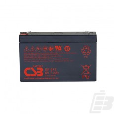 CSB Lead Acid Battery GP672 6v 7.2ah 1