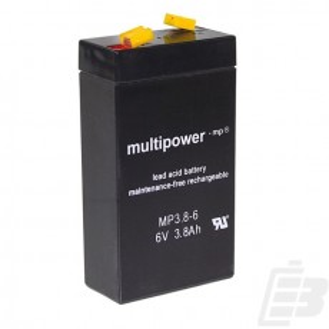 Μπαταρια Μολυβδου Multipower 6V 3,8Ah
