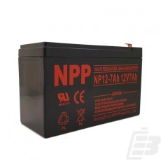 NPP Lead Acid Battery 12V 7Ah_1