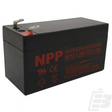 NPP Lead Acid Battery 12V 1.2Ah_1