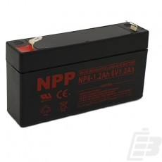 NPP Lead Acid Battery 6V 1.2Ah_1