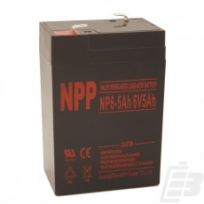 NPP Lead Acid Battery 6V 5Ah_1