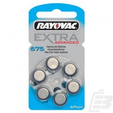 Rayovac Extra Advanced A675 1