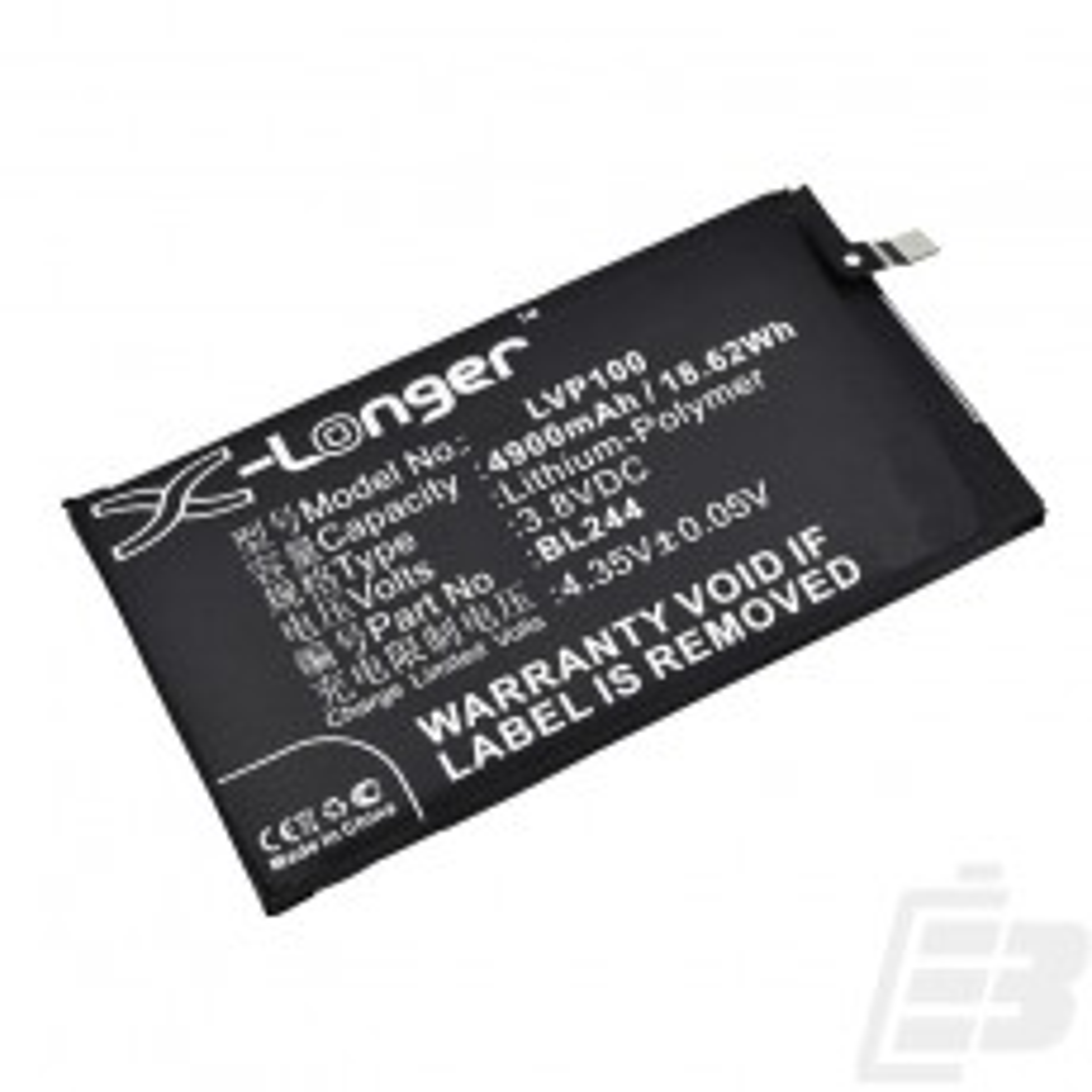 Smartphone battery Lenovo Vibe P1_1