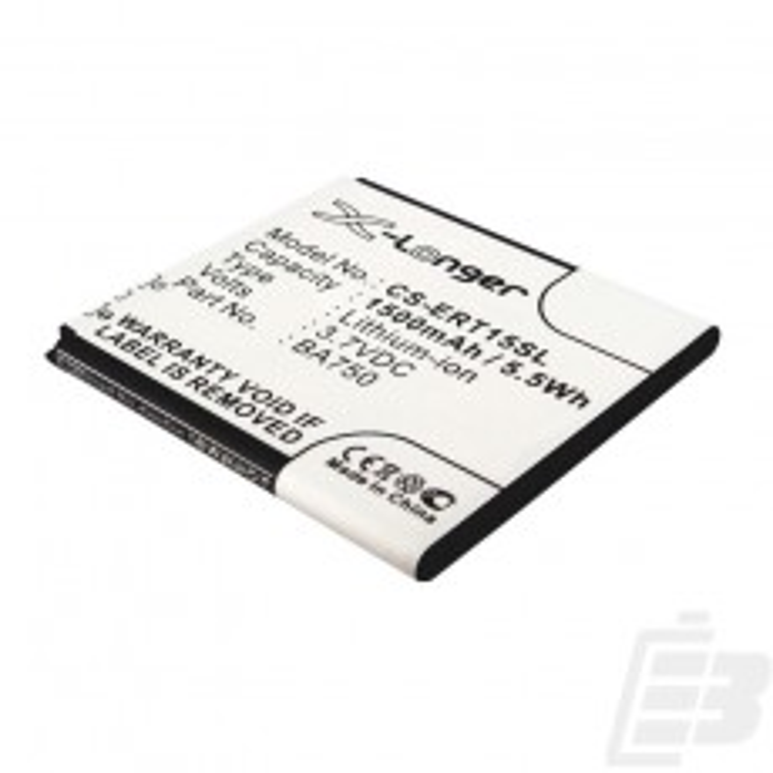 Smartphone battery Sony Xperia Arc_1