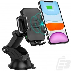Choetech T521-S Wireless Car fast charger 1