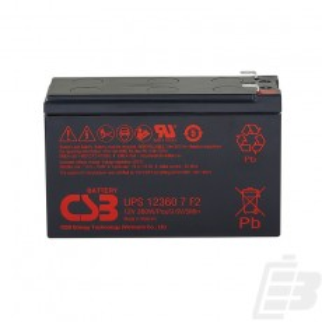 Μπαταρια Μολυβδου CSB UPS123607 12v  6ah 1