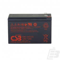 CSB Lead Acid Battery XTV1272 1