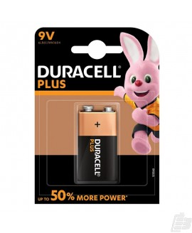 Duracell Plus MN1604 9V Alkaline battery