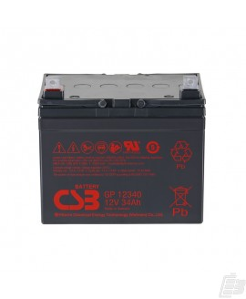CSB Lead Acid Battery GP12340 12v 34ah