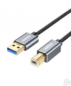 Choetech AB0011-BK USB-A to Type B Square 3m