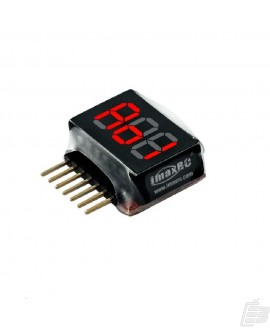 ImaxRC 1-6S Li-Po Battery voltage Indicator