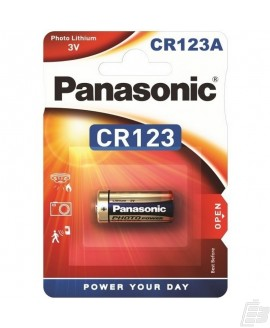 Panasonic Lithium Power CR123A Battery