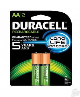 Duracell AA PreCharged Battery 2500mah