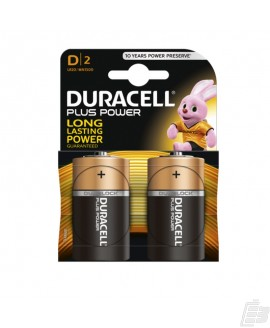 Duracell Plus MN1300 D Alkaline battery