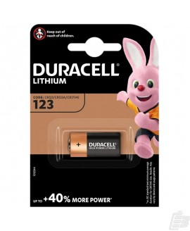 Duracell Ultra M3 CR123A Lithium Battery
