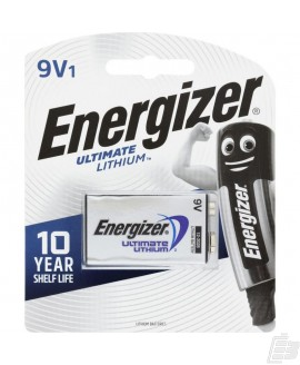 Energizer Ultimate 9V Lithium battery L522