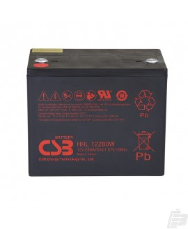 CSB Lead Acid Battery HRL12280W 12v 82ah