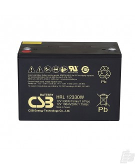 CSB Lead Acid Battery HRL12330W 12v 102ah