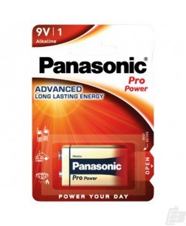Panasonic Pro Power 9V Alkaline battery