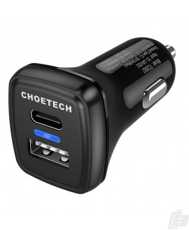 Choetech TC0005 USB-C Car Charger with Quick Charge 3.0