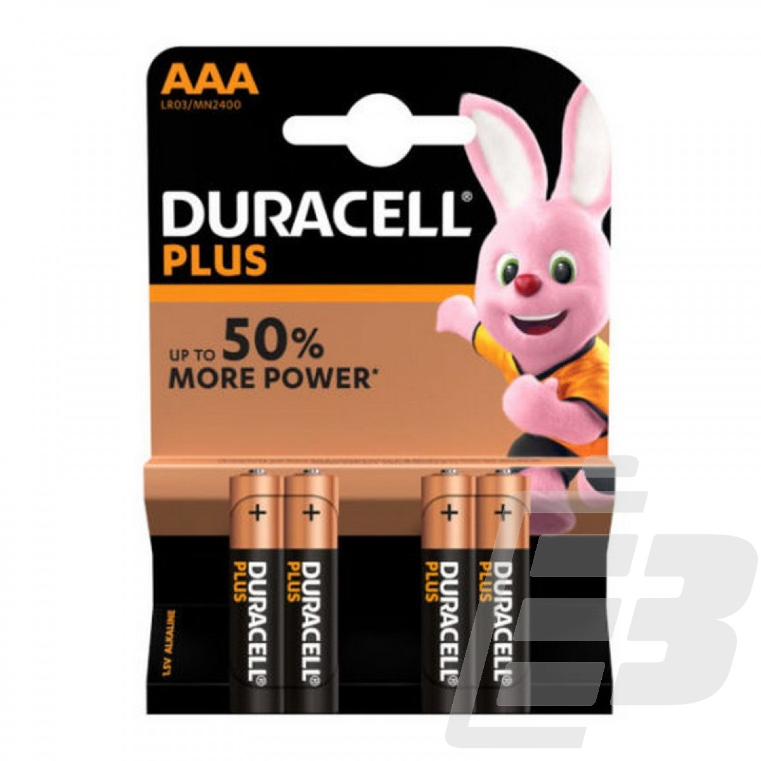 Duracell Plus MN2400 AAA Alkaline battery