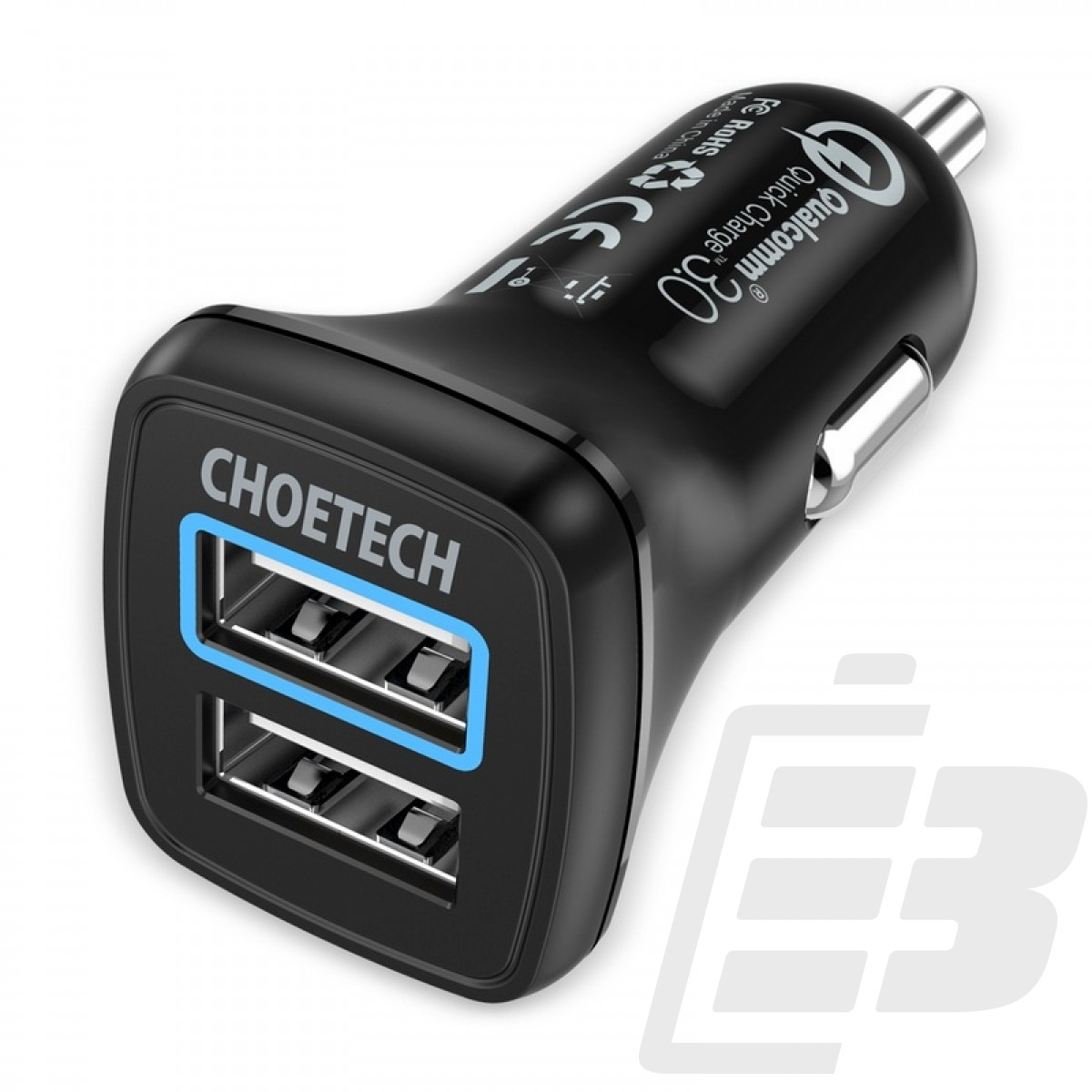 Choetech C0051 USB Car Charger with Quick Charge 3.0 1