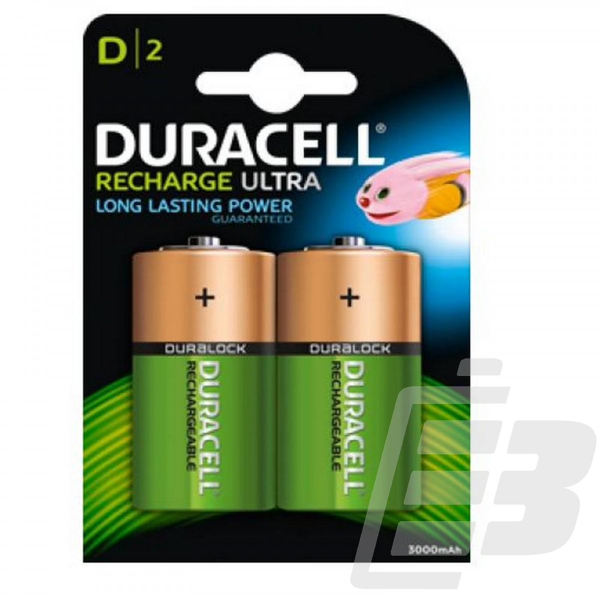 Duracell HR20 D Rechargeable Battery 3000mah 1