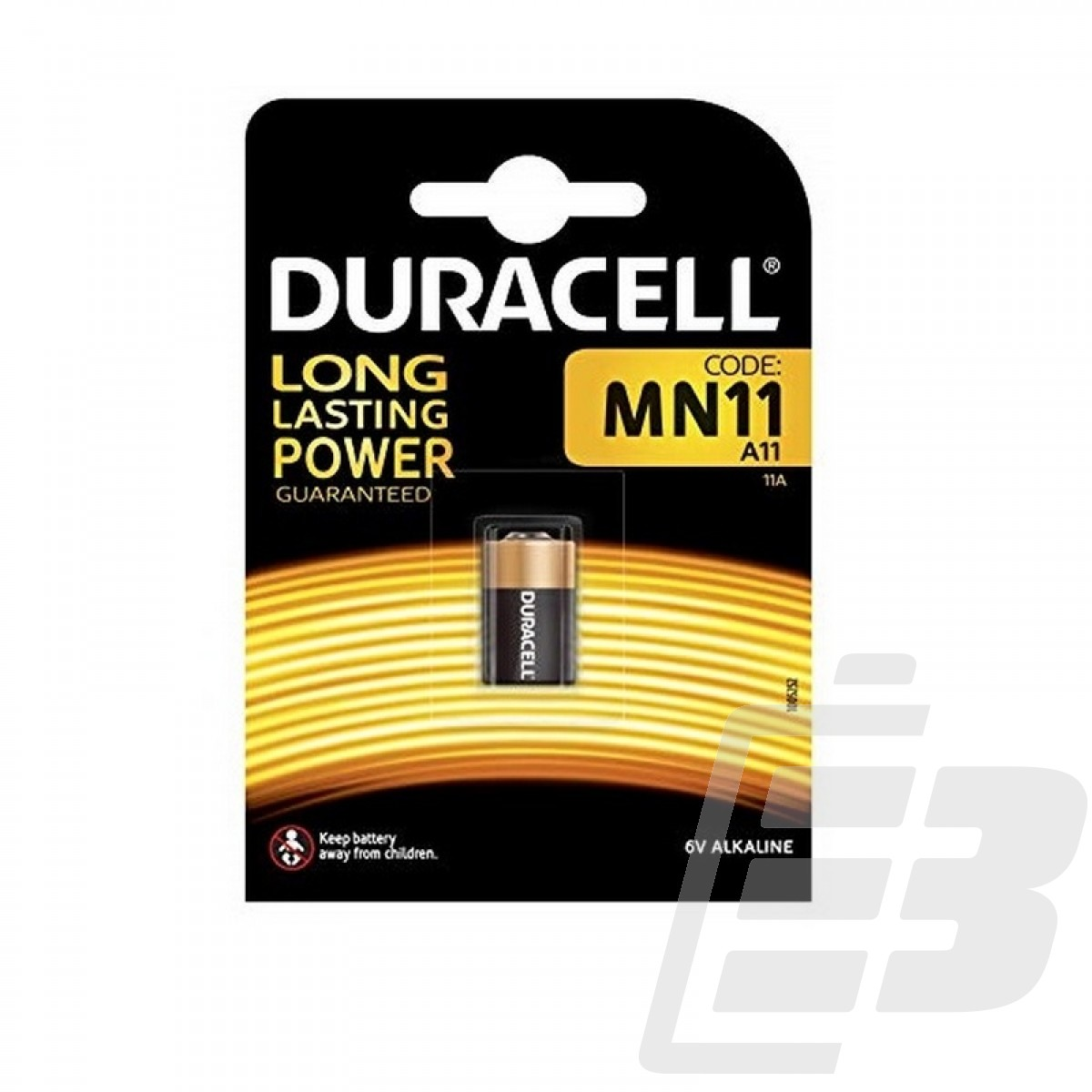 Duracell Plus MN11 Alkaline battery