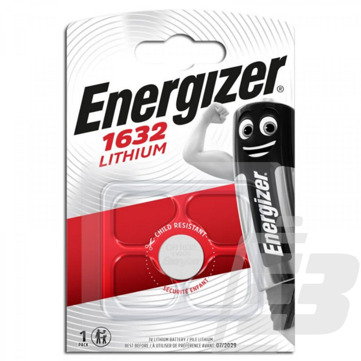 CR1632 Lithium battery Energizer 3V